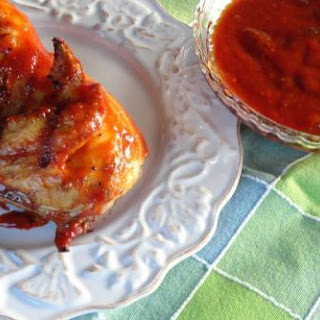 Apricot Barbecue Sauce for Grilling.