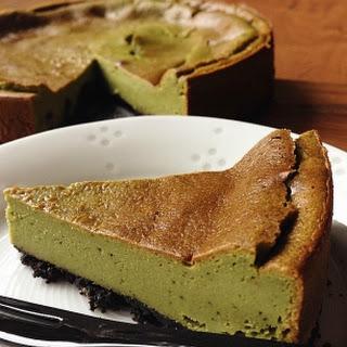 Green Tea (Matcha) Cheesecake