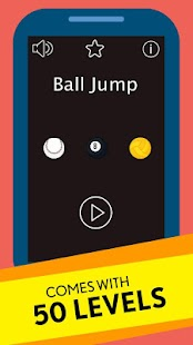 Ball Jump - cool bouncing game- screenshot thumbnail
