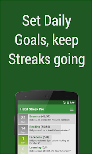 Habit Streak Pro Screenshot