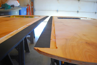 Photo: Use asphalt sealer anywhere the wood touches the metal trailer.