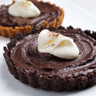 Dorie Greenspan's Creamy Chocolate Tartlets.