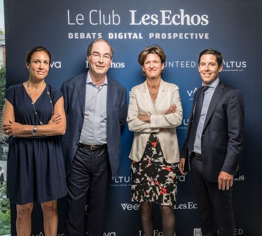 Club Les Echos Digital avec Isabelle Kocher et Yves Le Gélard - Veeva