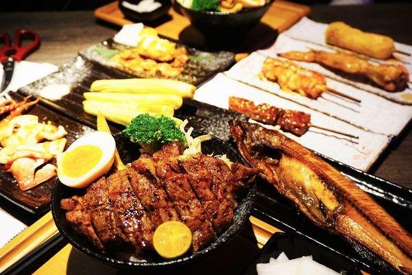 大河屋 燒肉丼 串燒 - 台南安平家樂福店 - 超好吃的酒食串燒丼飯一網打盡,台南日式料理推薦