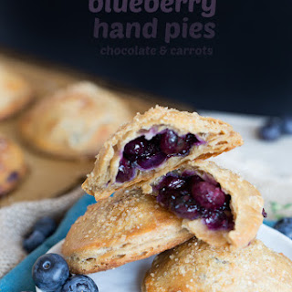 Whole Wheat Blueberry Hand Pies