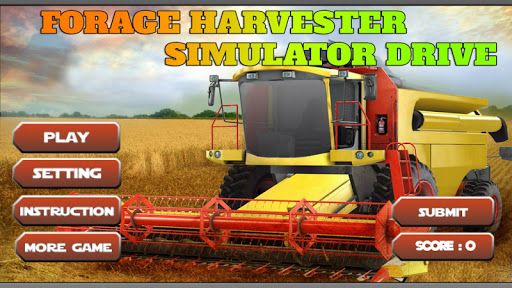 Forage Harvester Simulator 3D