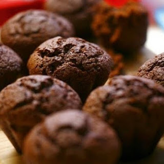 Chocolate Muffins With Cocoa