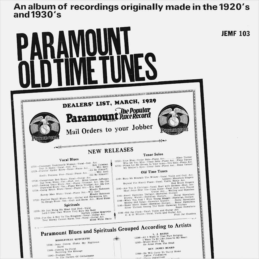 Paramount Old Time Tunes