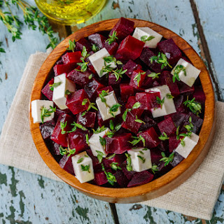 Beetroot and Raspberry Salad