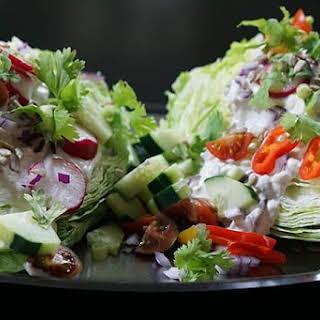 Iceberg Wedge Salad.