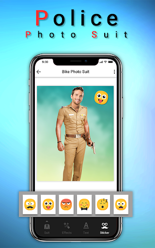 Police Photo Suit : Women & Men Police Pic Editor 1.2 screenshots 4