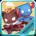 Cats King Premium - Battle Dog Wars: RPG Summoner icon