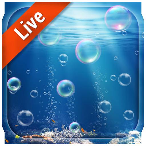 3D Moving Bubble Live Wallpaper