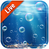 Moving Bubble Live Wallpaper
