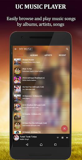 UC Music Player 2018 1.0 screenshots 2