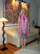 Photo: Finished lined dress!