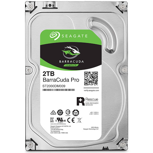 Ổ cứng HDD PC Seagate Barracuda Pro 2TB 3.5