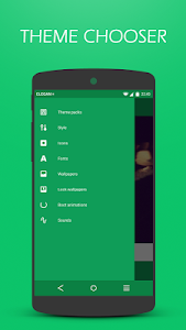 Elegan UI Green - CM12/CM12.1 v2.5