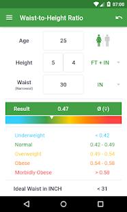 BMI Calculator – Weight Loss - screenshot thumbnail