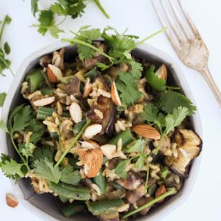 Eggplant + Green Bean Bowl Recipe