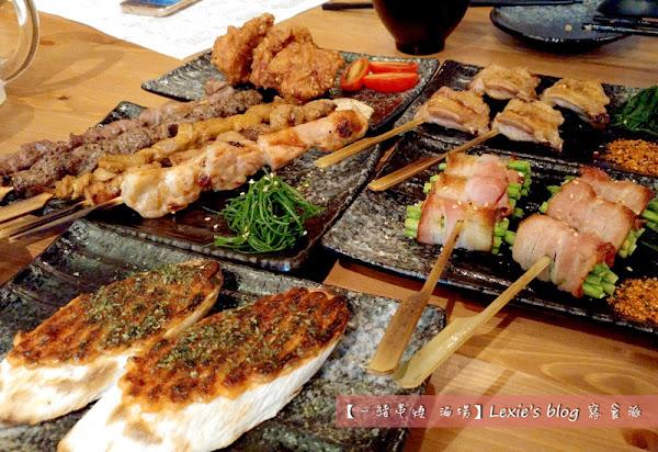 一緒串燒-酒場 長安東路串燒 35元串燒平價好吃餐廳宵夜推薦(菜單menu)