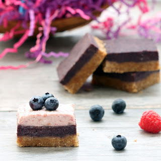 Berry Bliss Bars (Gluten-Free, Vegan/Plant-Based, Refined Sugar-Free) Recipe