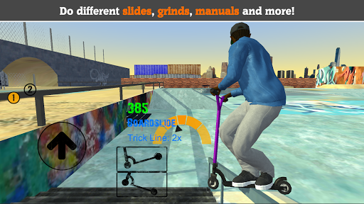 Scooter FE3D 2 - Freestyle Extreme 3D 1.23 screenshots 1