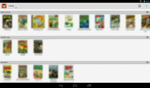 Comic Time Reader 1.2.7 screenshots 5