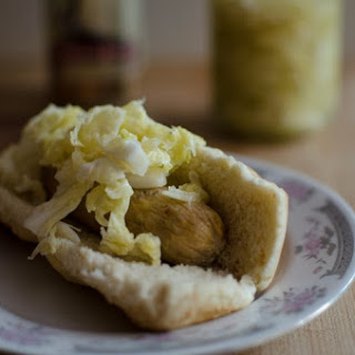 Ginger Beer Sauerkraut #SundaySupper