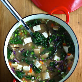Miso Soup with Vegetables.
