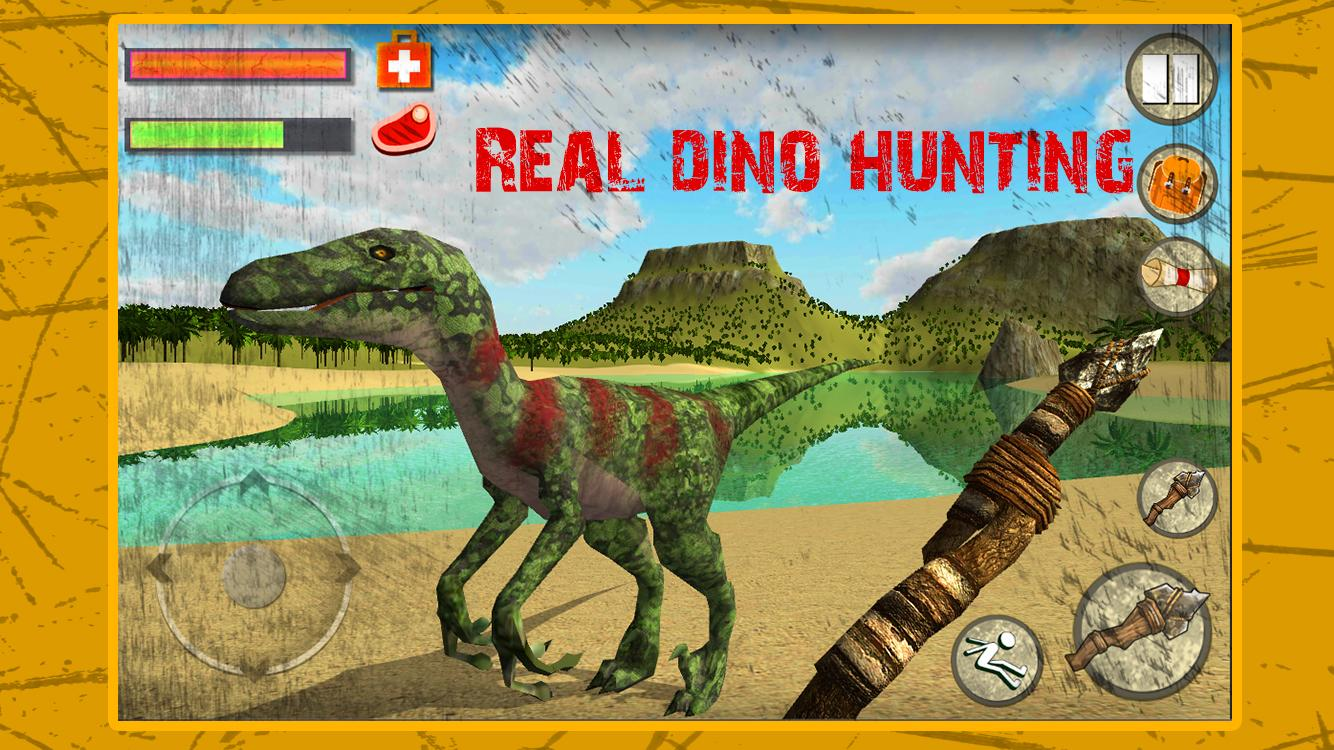 Survival Island 2: Dino Hunter – Capture d'écran