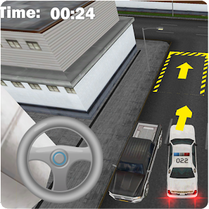 Parking Simulator Police Car for PC and MAC