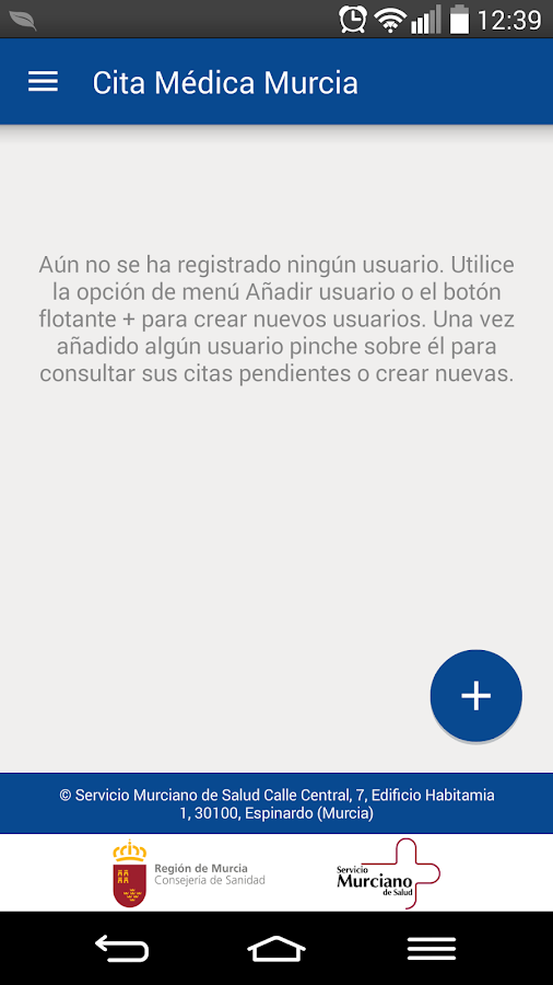 Cita previa sms android apps on google play - Pedir cita con el medico de cabecera ...