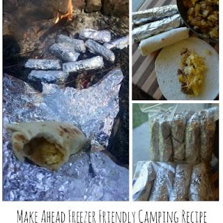 Breakfast Burritos ~ Freezer Friendly Camping