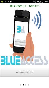 BlueAccess - náhled