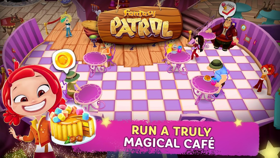 SCREENSHOTS FROM THE GAME «Fantasy patrol: Cafe»
