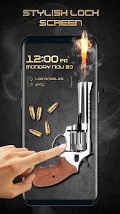 Gun Shooting Locker (Funny Lock Screen) - náhled
