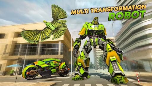 Army Spy Pigeon Multi Transforming Robot Games 1.0.0 screenshots 1