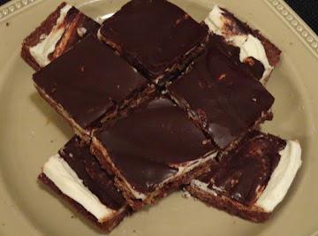 Iced Chocolate Squares Recipe