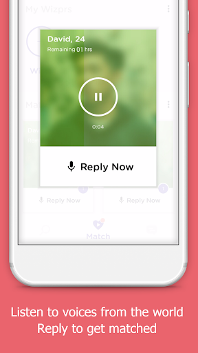 Wizpr - anonymous, listen to chat, text and date 1.0.44 screenshots 2