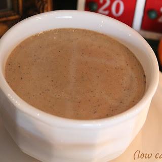 Keto Mexican Coffee Eggnog.
