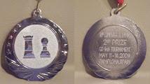 Photo: Silver medal for MoGo team