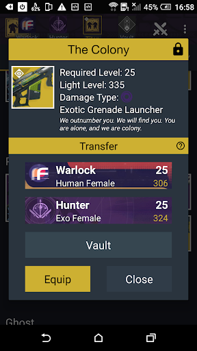 Vault Item Manager for Destiny 2 and 1 - Android Apps on ...
