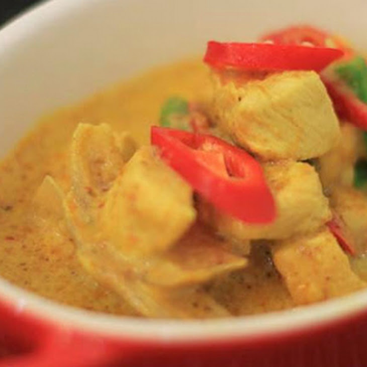 Thai Yellow Curry Chicken Recipe