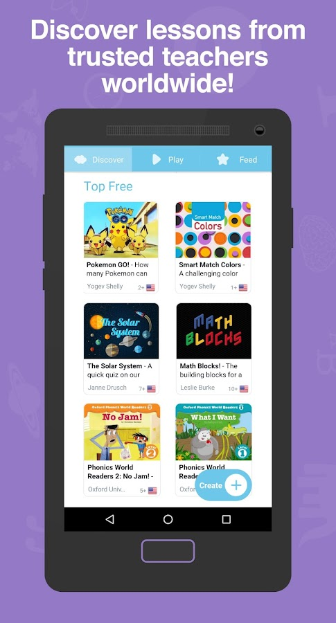 TinyTap, Make & Play fun apps- screenshot