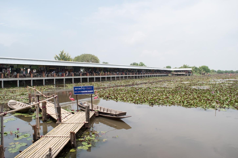 Red Lotus Floating Market の全景