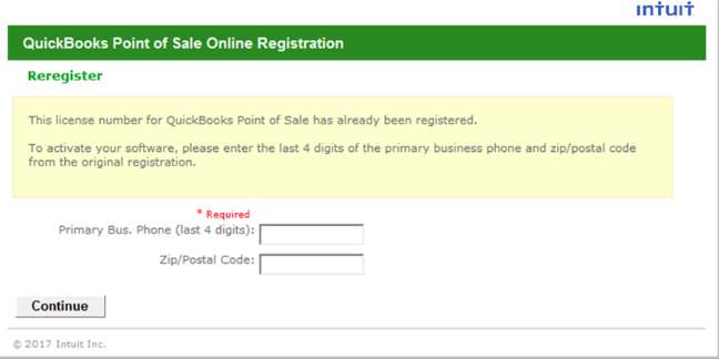 Activate QuickBooks Point Of Sale