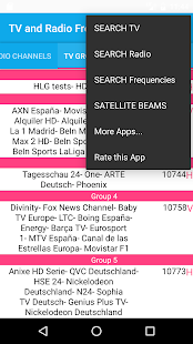 TV and Radio Frequencies on ASTRA Satellite - Google Play 上