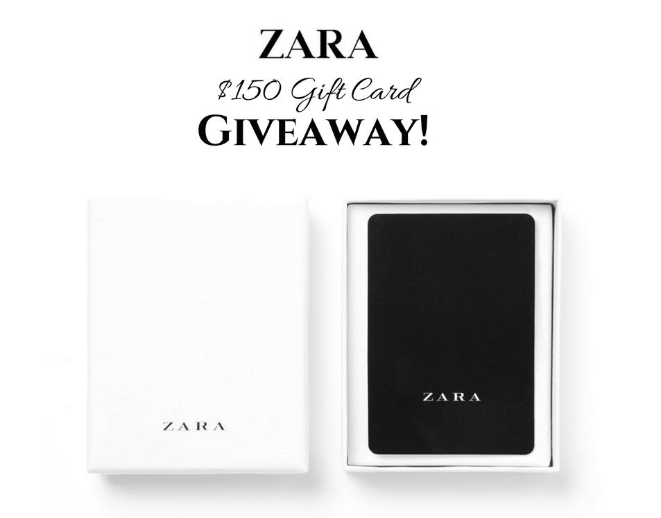 Zara Gift Card Giveaway