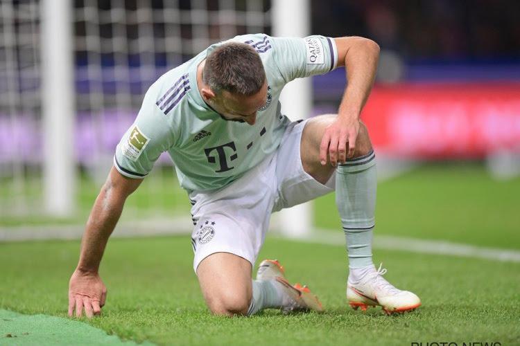 Le Bayern Munich inflige une lourde amende à Ribéry pour ses propos grossiers